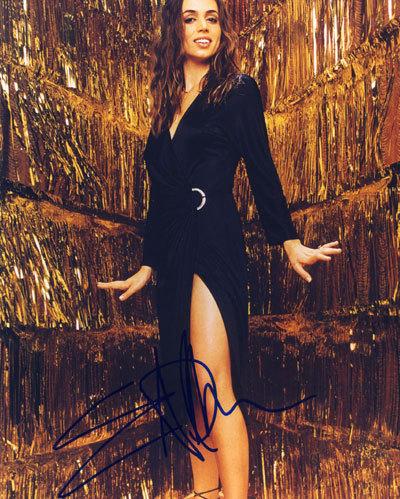eliza dushku autograph