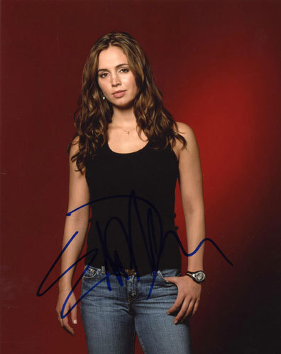 Buffy the Vampire Slayer wallpaper titled eliza dushku autograph