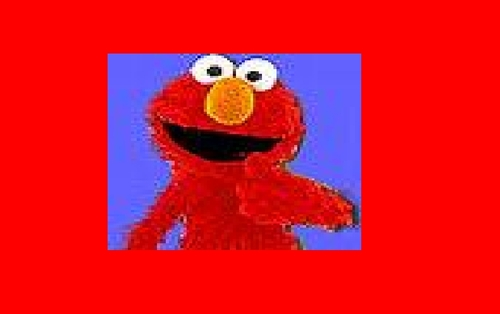 Sesame jalan, jalan, street wallpaper called elmo i made