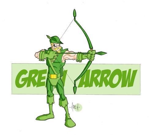 zamrud, emerald archer