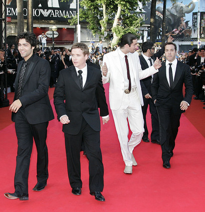 entourage at cannes