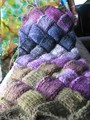 entrelac - knitting photo