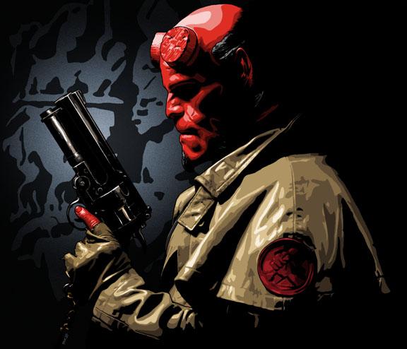 fanmade poster - Hellboy Fan Art (546197) - Fanpop