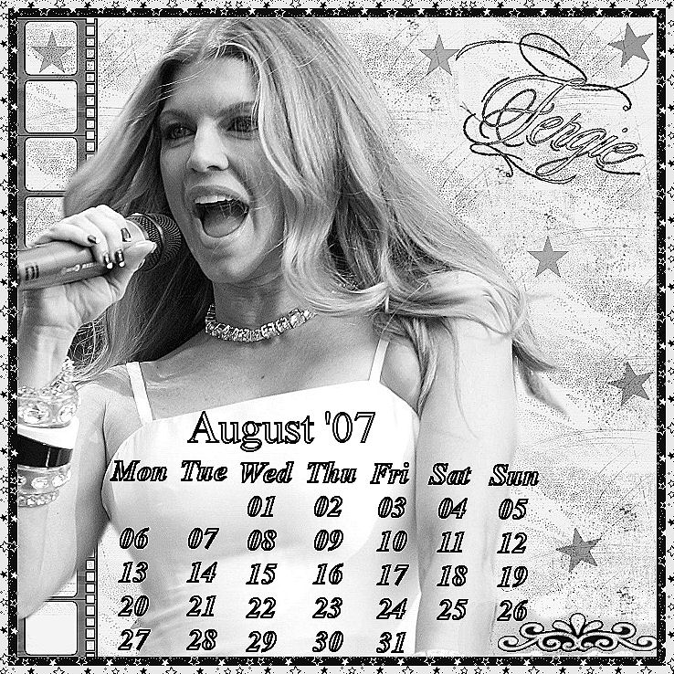 fergie calendar