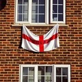 flag from Window - england photo
