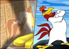 Looney Tunes দেওয়ালপত্র entitled foghorn leghorn
