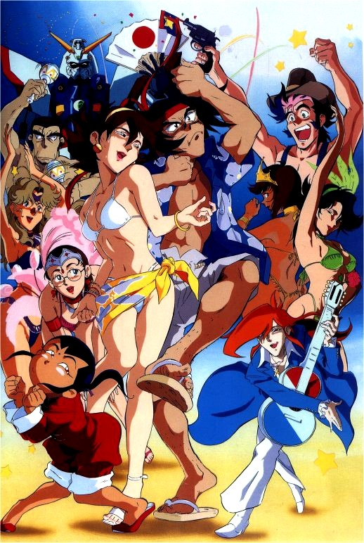 girls g gundam naked