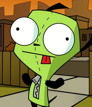 gir - invader-zim Photo