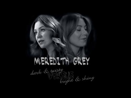 Meredith Grey karatasi la kupamba ukuta entitled grey