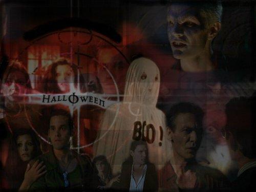 Баффи — истребительница вампиров Обои entitled Хэллоуин
