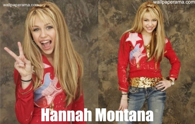 Hannah Montana spilt av Miley Cyrus. thumbnail