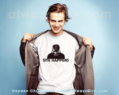 Hayden Christensen achtergrond titled hayden
