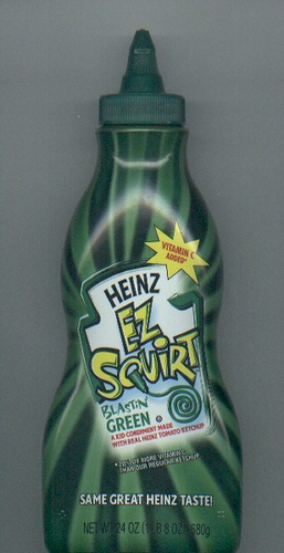 heinz green - ketchup Photo