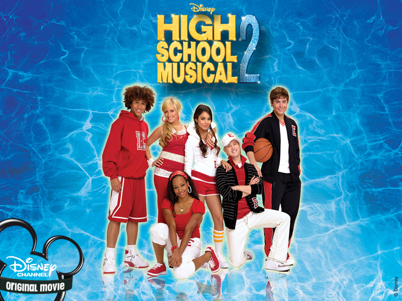 High School Wallpaper on Zac Efron High Musical