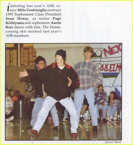 high school yearbook fotos