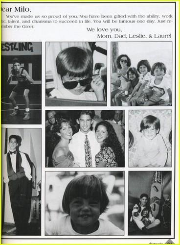 high school yearbook foto's