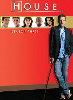 house md season 3 dvd
