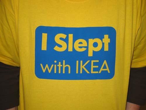 i slept with ikea