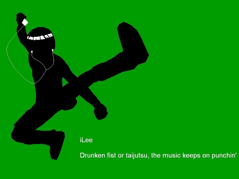 wallpaper rock lee. iLee - Rock Lee Wallpaper