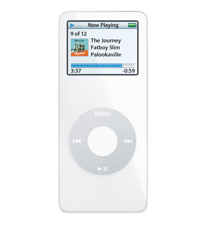 Apple ipod nano 2 3