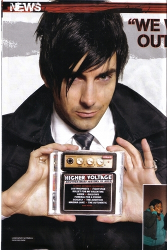 Ian Watkins wallpaper entitled ian