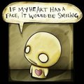 if my heart had a face.. - pon-and-zi-azuzephre-cartoons photo