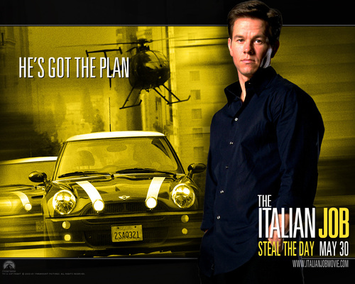 Mark Wahlberg fondo de pantalla called italian job