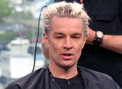 James Marsters wallpaper called james getting his hair shaved