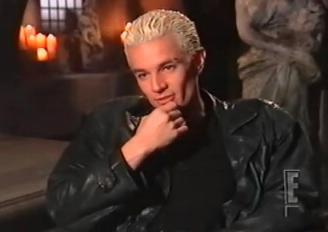 james in a interview as spike