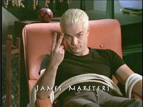 james marster as spike