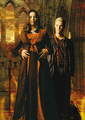 james/spike &amp; juliet/dru - james-marsters fan art