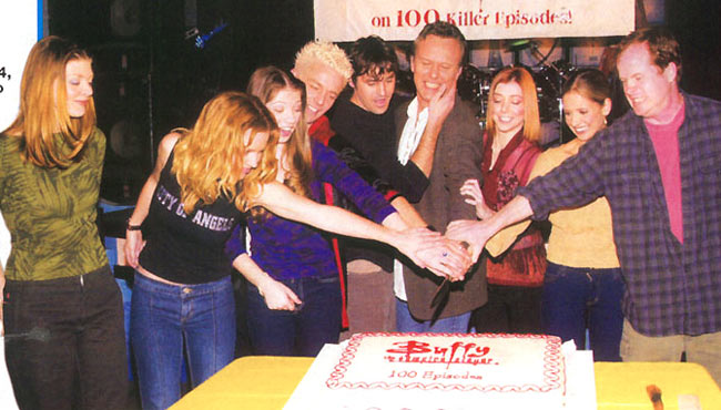 joss&btvs-100th episode party