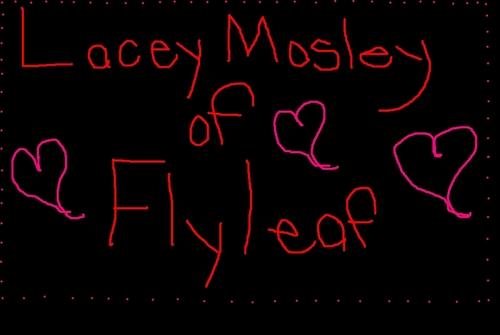Flyleaf wallpaper entitled laceymosley fan art