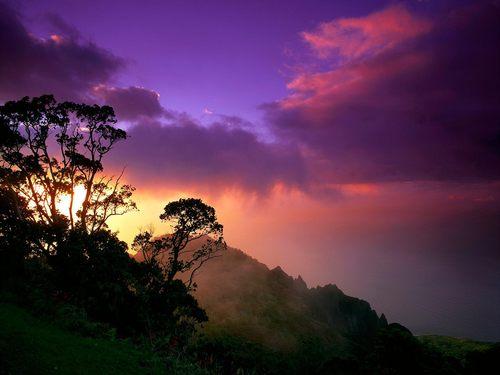 Mother Nature Hintergrund entitled landscapes