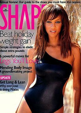 Tyra Banks wallpaper titled magazine
