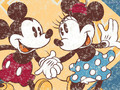 mickey n minnie - childhood-memories wallpaper