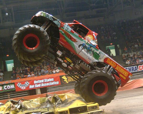 monser truck