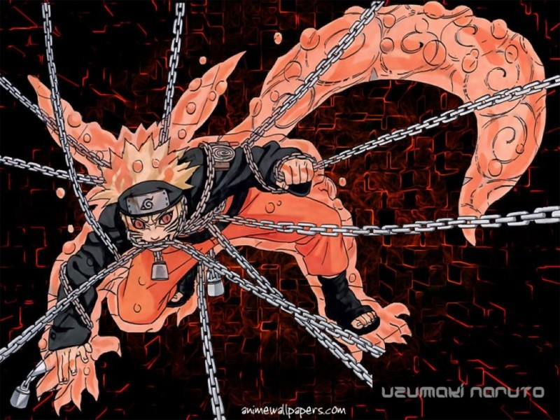 Nine Tailed Beast (Bijuu) Naruto Shippuden 2 Tails