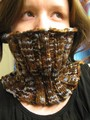 neck warmer - knitting photo