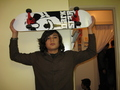 new board!!!! - skateboarding photo