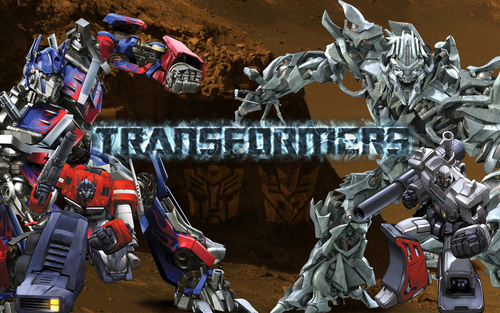 Transformers wallpaper called old and new