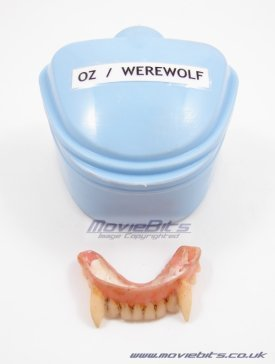 oz's werewolf teeth