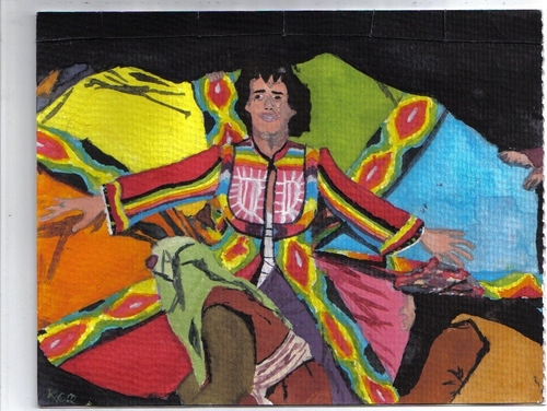 painting of Lee as Joseph