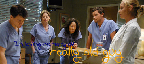 really old guy - greys-anatomy Photo