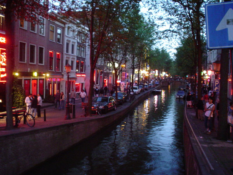 The Netherlands images red light district HD wallpaper and ...
