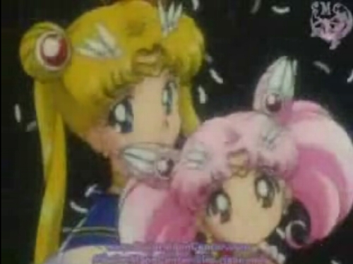 sailor moon and rini!