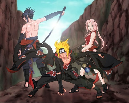 Naruto Shippuuden images sakura.naruto.sasuke.akatsuki HD wallpaper and background photos