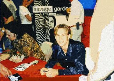 Savage Garden achtergrond titled savage garden