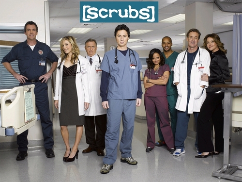 Christa Miller wallpaper entitled Scrubs Season 6 Promo Pictures