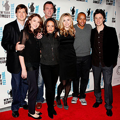 scrubs Cast At The Nyc Farewell Tour